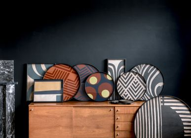Trays - Urban geometry tray collection - ETHNICRAFT