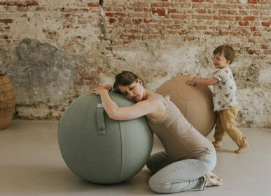 Ottomans - VLUV SOVA fabric sitting ball - VLUV