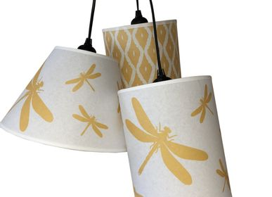 Customizable objects - CEILING LAMP WITH ONE OR THREE SHADES - LA MAISON DE GASPARD