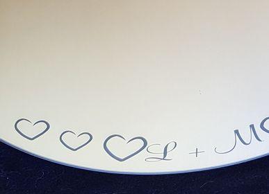 Mirrors - Custom sandblasted glass - TOUTVERRE