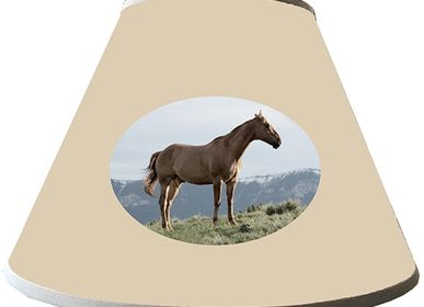 Customizable objects - HORSE LAMP SHADES - LA MAISON DE GASPARD / FP CONCEPT