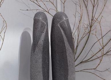 Sculptures, statuettes et miniatures - Sculpture Les Echassiers - LUCIE DELMAS SCULPTURE
