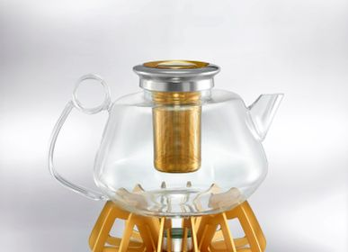 Acoustic solutions - THE BREWMASTER - Tea Pot - SHAZE LUXURY RETAIL PVT LTD