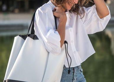 Bags / totes - BIG BOAT BAG VARNISH WHITE L - DALZOTTO