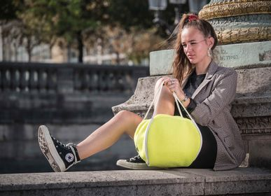 Bags / totes - TENNIS BALL BAG YELLOW - DALZOTTO