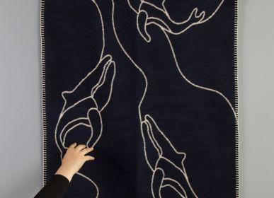 Linge de lit enfant - Couverture bébé en coton super doux avec baleines - FABGOOSE
