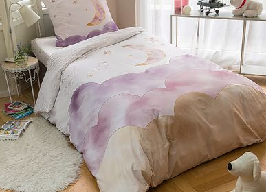 Bed linens - Bed linen for children Luna in percale of cotton - TRADITION DES VOSGES