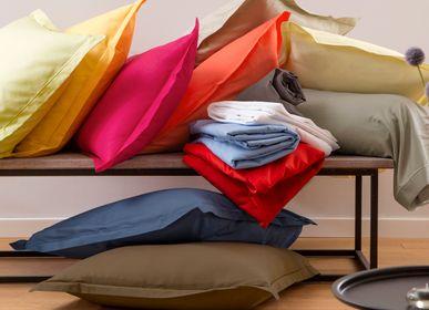 Bed linens - Plain cotton linen 57 threads / cm² - TRADITION DES VOSGES