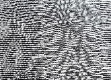 Upholstery fabrics - Salamander Black Silver - KOKET