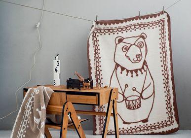 Linge de lit enfant - Couverture bébé Circus Bear en coton bio - FABGOOSE