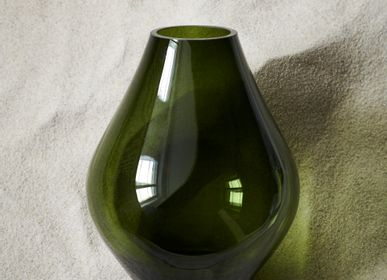 Vases - Glass vases, several shapes and colors - H. SKJALM P.