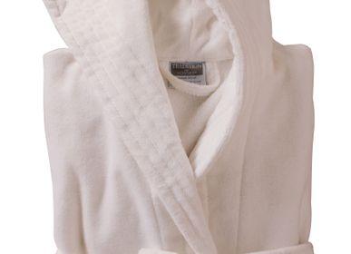 Autres linges de bain - Peignoir coton velours rasé Elyse - TRADITION DES VOSGES