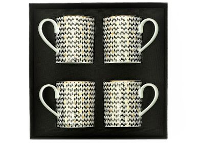 Tasses et mugs - Set of 4 Porcelain Mugs - ZARINA