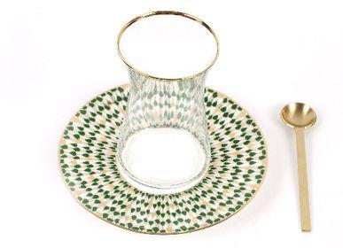 Mugs - Set of 6 Istikana Cups - ZARINA