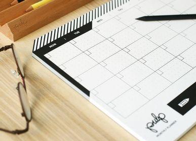 Papeterie - Planificateur mensuel - PULP SHOP