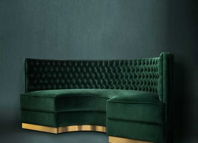 Sofas for hospitalities & contracts - BOURBON Round Sofa - BRABBU DESIGN FORCES