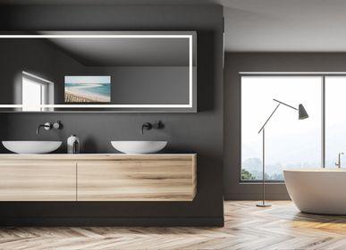 Bathroom mirrors - TV DTF-2202 - HYMAGE - CONCEPTEUR DE TÉLÉVISEURS MIROIRS