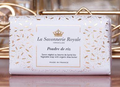 Savons - Savon 100G Poudre de riz - LA SAVONNERIE ROYALE