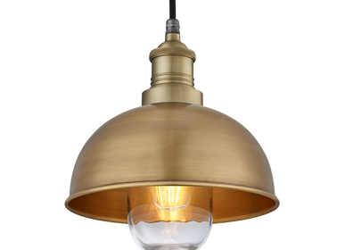 Hanging lights - Brooklyn Outdoor & Bathroom Dome Pendant - 8 Inch - INDUSTVILLE