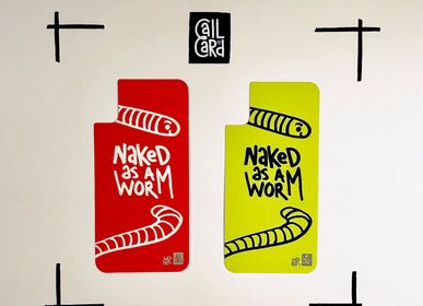 Apparel - NAKED AS A WORM - CALL CARD®