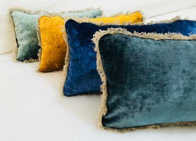Cushions - CUSHIONS VELVET TSAR APACHE - BERENGERE LEROY