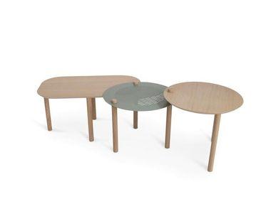 Tables basses - PETITE TABLE BASSE ET DUO DE PLATEAUX by Nestor - DIZY