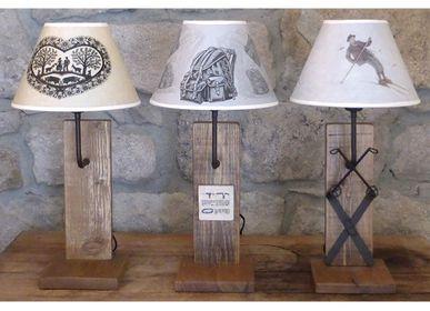 Objets personnalisables - GRAND CHOIX DE LAMPES,LAMPADAIRES,APPLIQUES,SUSPENSIONS ET D'ABAT JOUR POUR LA MONTAGNE - LA MAISON DE GASPARD / FP CONCEPT