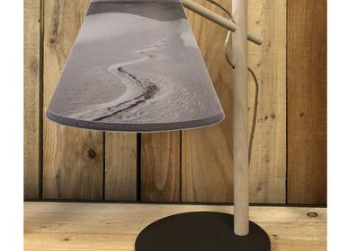 Customizable objects - LARGE CHOICE OF LAMPS AND LAMP SHADES FOR THE MOUNTAIN  - LA MAISON DE GASPARD / FP CONCEPT