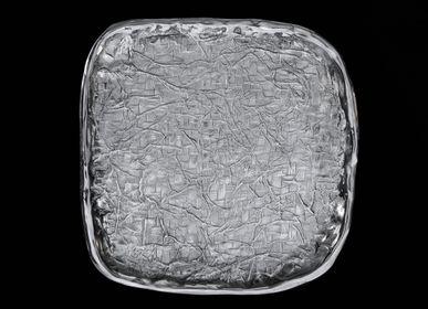 Decorative objects - Sahafo carré Froissé/Natté - JARDIN SECRET