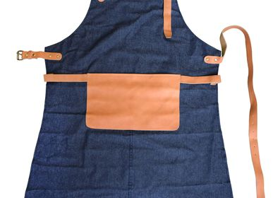 Aprons - Jeans Kitchen Apron - SKIN.LAND