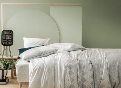 Bed linens - Tribal Spirit Peacock Green - BLANC CERISE