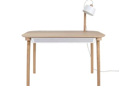 Desks - BUREAU, TIROIR & LAMPE by Désiré - DIZY