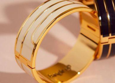 Bijoux - Bracelet Gaya - Blanc Sable - BANGLE UP