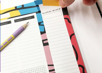 Stationery - WEEKLY - PAPIER MERVEILLE