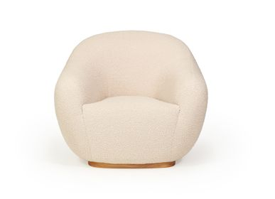Armchairs - NIEMEYER II Armchair, Sofa and stool - INSIDHERLAND