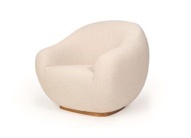 Armchairs - NIEMEYER II Armchair, Sofa and stool - INSIDHERLAND