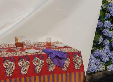 Homewear - Leopard Stripes Rust tablecloth 180x270cm - LISA CORTI