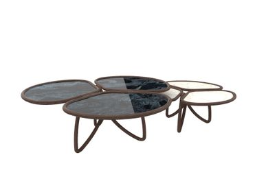 Coffee tables - Roatan coffee table set of 2 - ALMA DE LUCE