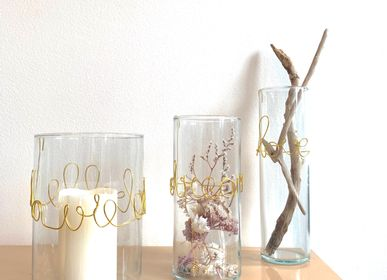 Vases - Small Poetic Message Vases - LES LOVERS DECO