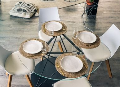 Tables Salle à Manger - Table à manger TRIRON - GLASSVARIATIONS