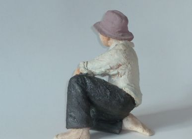 Sculptures, statuettes and miniatures - Solo sculpture - ELISABETH BOURGET