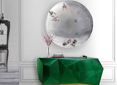 Miroirs - METAMORPHOSIS Concave Mirror - BOCA DO LOBO