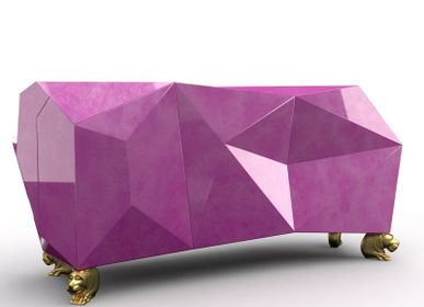 Sideboards - DIAMOND AMETHYST Sideboard - BOCA DO LOBO