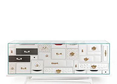 Sideboards - MONDRIAN Sideboard - BOCA DO LOBO