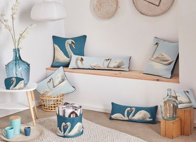 Cushions - Swan collection  - ART DE LYS