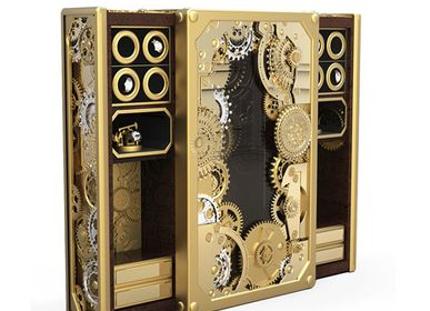 Unique pieces - BARON GOLD Luxury Safe - BOCA DO LOBO