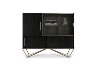 Bookshelves - Hines Cabinet - PORUS STUDIO