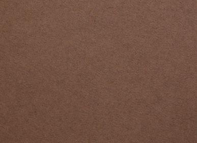 Stretched ceilings - PET felt - Minimal art brown 001 - FÉLINE