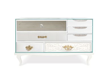Night tables - SOHO WHITE Nightstand - BOCA DO LOBO