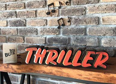 Objets design - THRILLER - BOX BUTIK